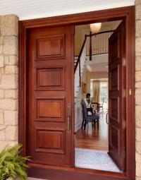 mahogony-doors