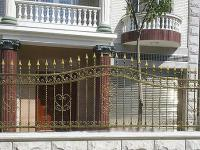 стандартный кованый забор