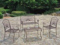 wrought-iron-benche-and-table-chare