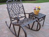 wrought-iron-benche-and-table