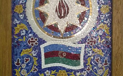 chipped-tiles-flag-and-coat-of-arms-of-azerbaijan
